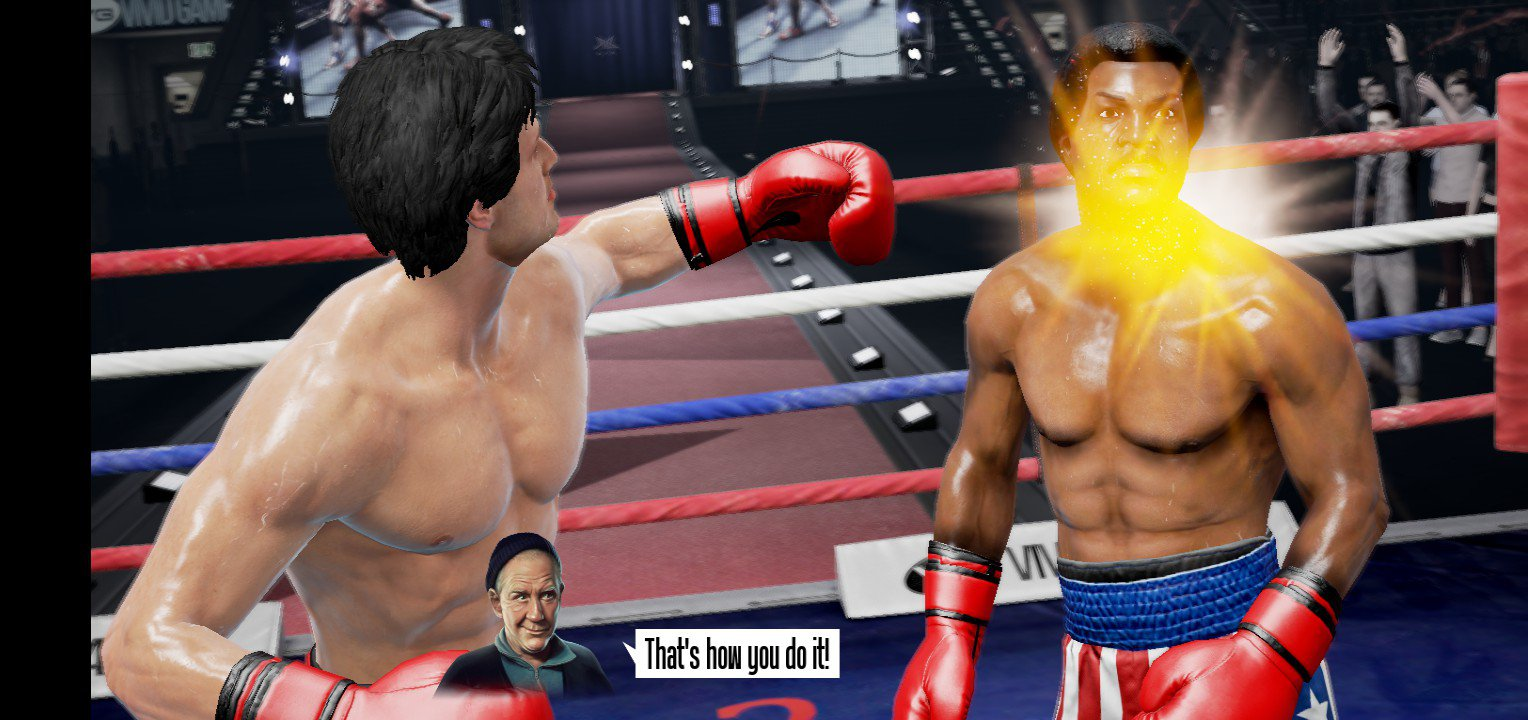 Real Boxing Rocky